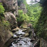 面白山で渓谷散策
